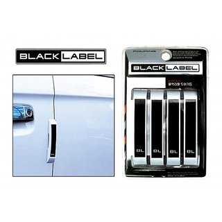 Black Label - Car Door Scratch Guard For Volkswagen Vento 2014-2015