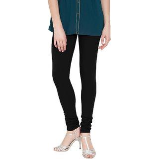 Nicewear Black Cotton Lycra Legging