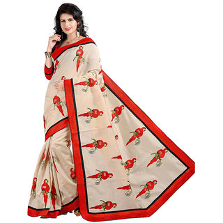 Alberts Embriodered Assam Silk Silk Sari 3018