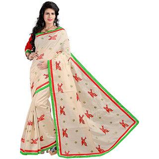 Alberts Embriodered Assam Silk Silk Sari 3021