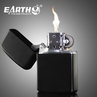 Zippo Quality Earth Cigarette Lighter With Fuel Buy 3 Get 1 Free