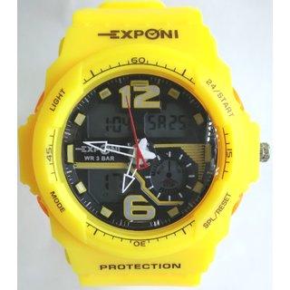 Digital Sports Dual Time Watch 3203Yl