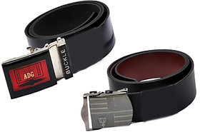 Black Formal  Belt For Men Set Of 201111