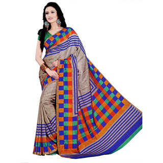 Miraan Bhagalpuri Silk Sarees With Blouse Piece VI1181A
