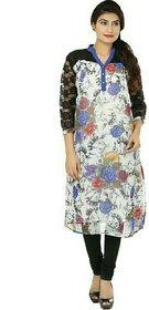 Shagun Casual Floral Print Womens Kurti