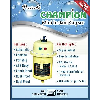 Instant Portable Geyser
