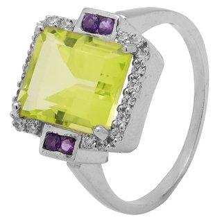 Allure Jewellery 925 Sterling Silver Multi colour Ring