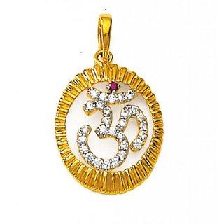 KIARA OM DESIGN AMERICAN DIAMOND PENDANT # KIP0061