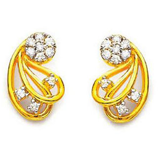 KIARA JEWELLERY FANCY FLOWER SHAPE EARRING  KIE0008