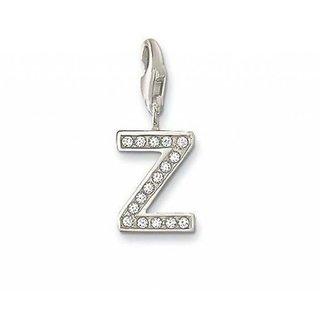 KIARA Z ALPHABET DESIGN AMERICAN DIAMOND PENDANT # KIP0078