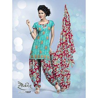 Shaukin Cotton Jaquard Salwar Suit (Unstitched)