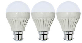 VRCT 5W LED Bulb Set of 3 Piece Combo Offer