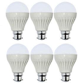 VRCT 5W LED Bulb Set of 6 Piece Combo Offer
