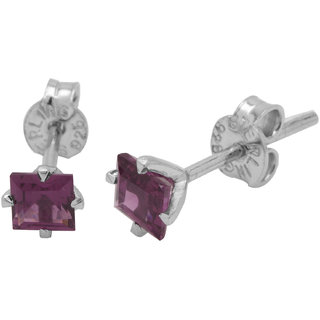 Allure Jewellery 925 Sterling Silver Rhodolite Women Studs