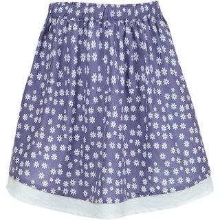 Nino Bambino Organic Cotton Organic Cotton Girls Floral Skirt