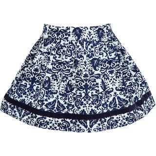 Nino Bambino Organic Cotton Skirt With Floral Print