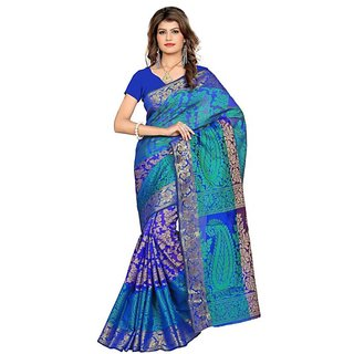 Kanchipuram Art Silk Saree Kanjivaram Silk Saree