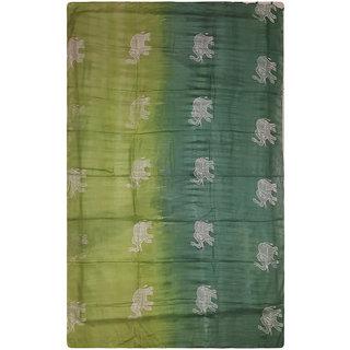100 Viscose Rayon Bali Culture Green Sarong