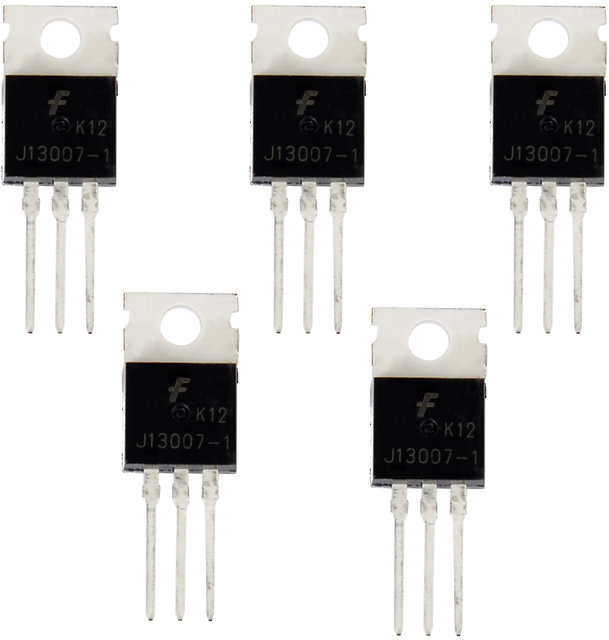 5 Pcs 13007 13007G Npn Power Transistor For Switching Power Supply