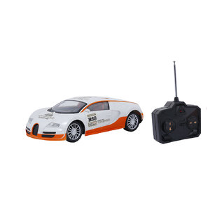 Emob Fully Loaded White Radio Control Car Sports Model