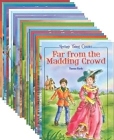 Heritage Young Classic Series Set - B (Set of 20 Books)