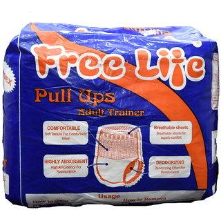 FREE LIFE Adult Diapers  Medium (80cm to 110cm)