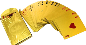 Gold Plated Cards by Casino Sutra (Free Shipping)