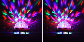 Rotating Multicolor Decorative Led for Diwali Lighting Set of 2 Combo Offer