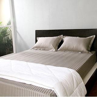 Grey 400 Tc Pillow Covers (4068)