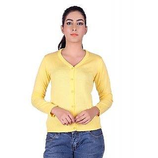 Ogarti 9001 Plain Lemon Cardigans