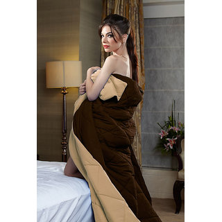 Brown Beige Reversible Comforters (SPRSC1001)
