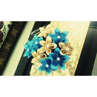 Blue Light Brown Combi Bunch