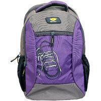 Sami Purple Polyester Kids School Bag