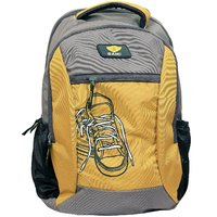 Sami Yellow Polyester School Bag