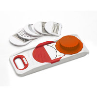 Class Unbreakable ABS Plastic 6 in 1 slicer -red
