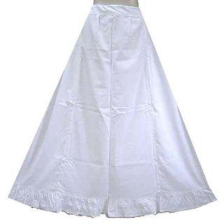 Pure Cotton Sari Petticoat Free Size