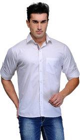 Tsx Men's Purple Regular Casual Shirt