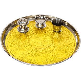 Pooja Thali  Pooja thali set  Decorative pooja thali  Pooja Thali for Mandir