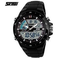 Men Sports Watches Waterproof Fashion Casual Quartz Watch Digital  Analog