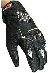 Riding Gloves Knighthood Black Color