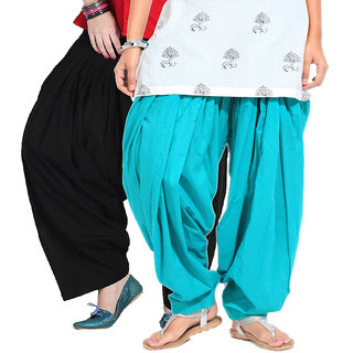 BrandTrendz Slick Set of 2 Cotton Patiyala Salwar