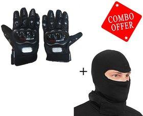 Combo Probiker Gloves Balaclava