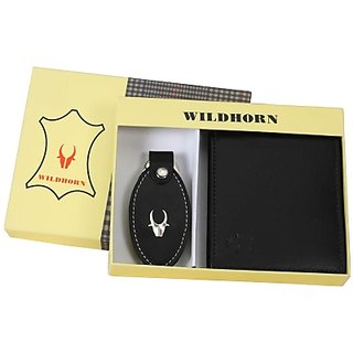 Wildhorn Wallet Men's  Women's Combo (Synthetic leather/Rexine)