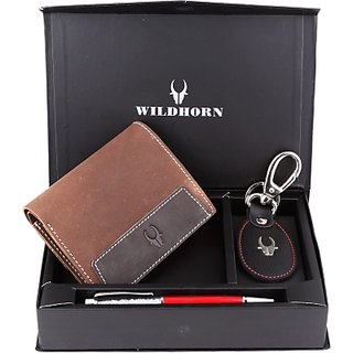 Wildhorn Wallet Men's & Women's Combo (Synthetic leather/Rexine)