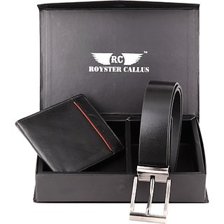 Royster Callus Wallets Men's & Women's Combo (Synthetic leather/Rexine)