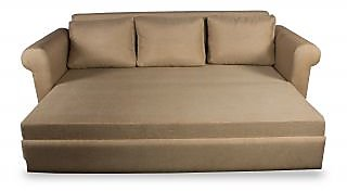 Kobi 3 Seater Sofa Cum Bed with Storage and free 3 large cushions