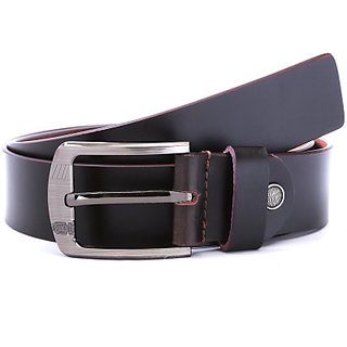 Wildhorn Men Casual Purple Genuine Leather Belt (Purple)