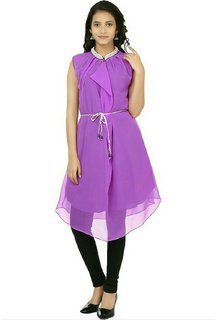 Shagun Casual Solid Womens Kurti