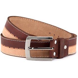 Wildhorn Men Casual Brown Genuine Leather Belt (Brown)