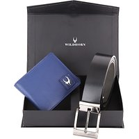 Wildhorn Men, Women Casual, Formal Blue Genuine Leather